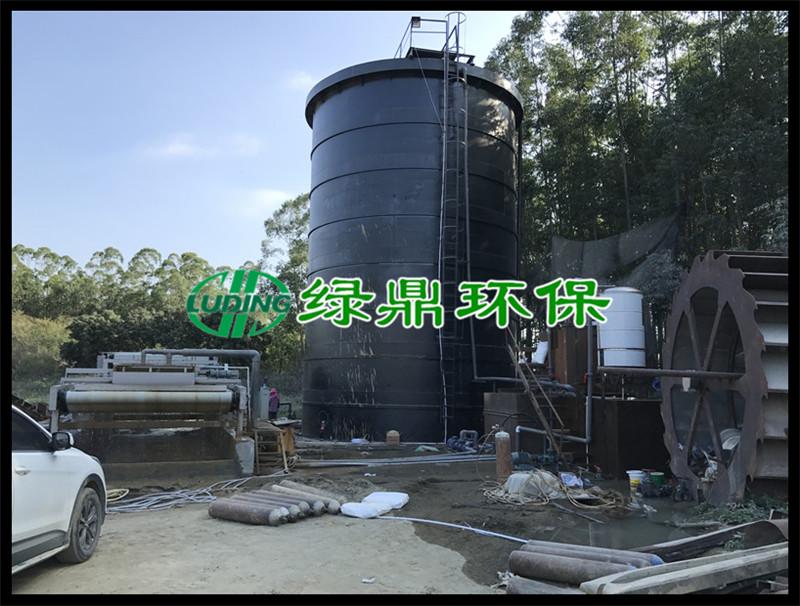 洗沙污泥泥浆处理工程,3米带宽带式脱水机运行现场(福建洗沙) 3