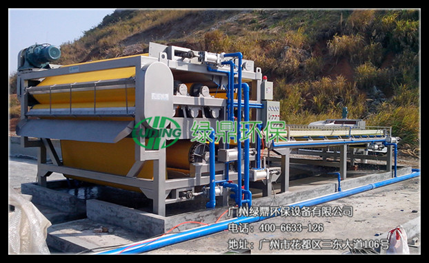 LDFT-砂石泥浆重型带式压滤机