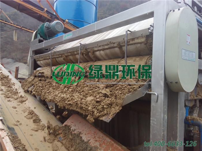 LDFT-砂石泥浆重型带式压滤机 2