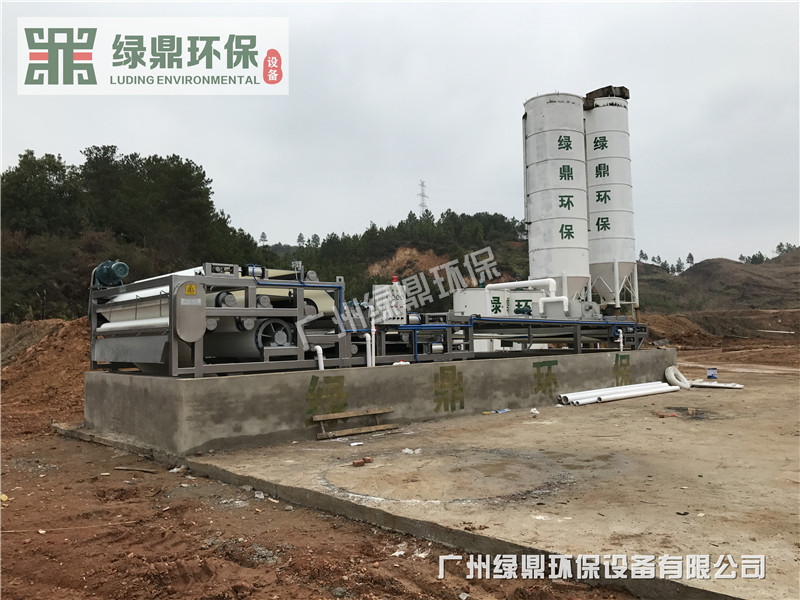 沙场泥浆处理设备