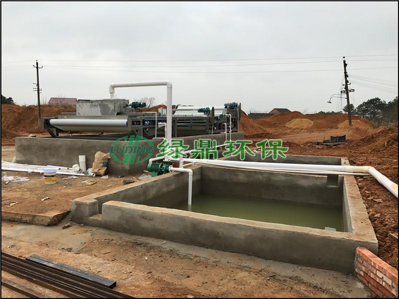 沙场泥浆处理设备 2