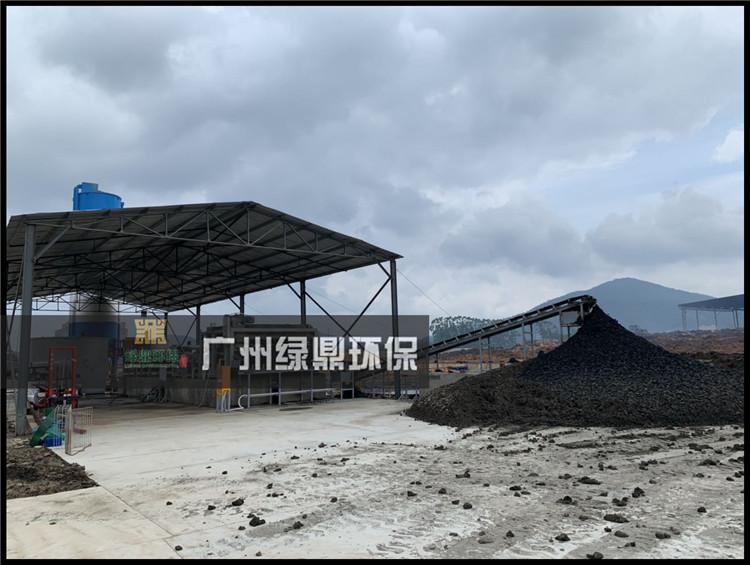 河道处理工程河道泥浆水处理设备应用现场 1
