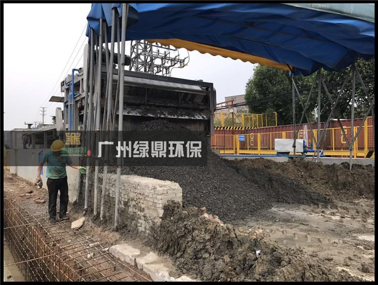 工地泥浆污泥处理设备现场应用案例
