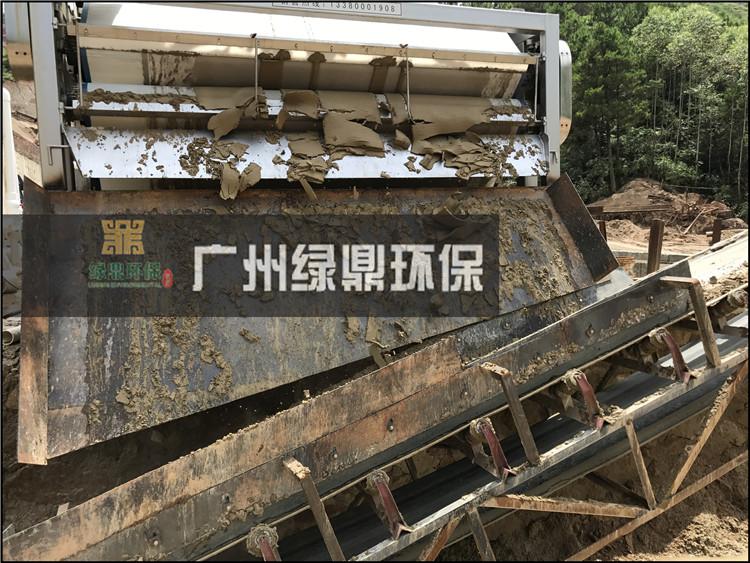 石材厂大锯切割泥浆处理工程泥浆处理设备现场案例 4