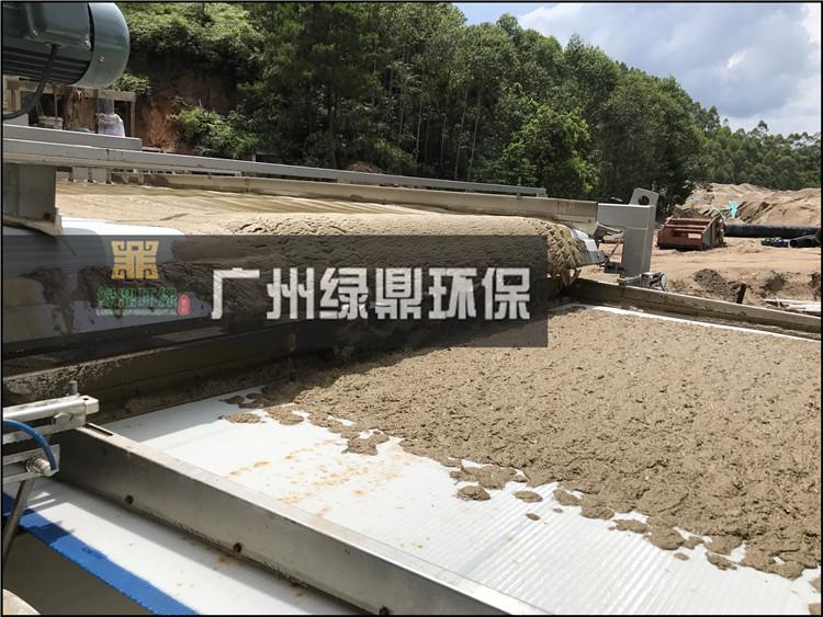石材厂大锯切割泥浆处理工程泥浆处理设备…