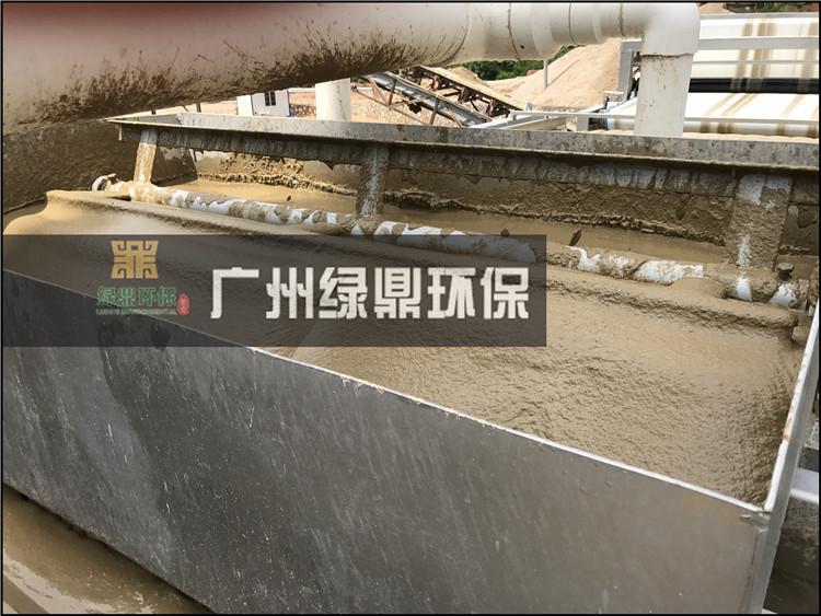 石材厂大锯切割泥浆处理工程泥浆处理设备现场案例 1