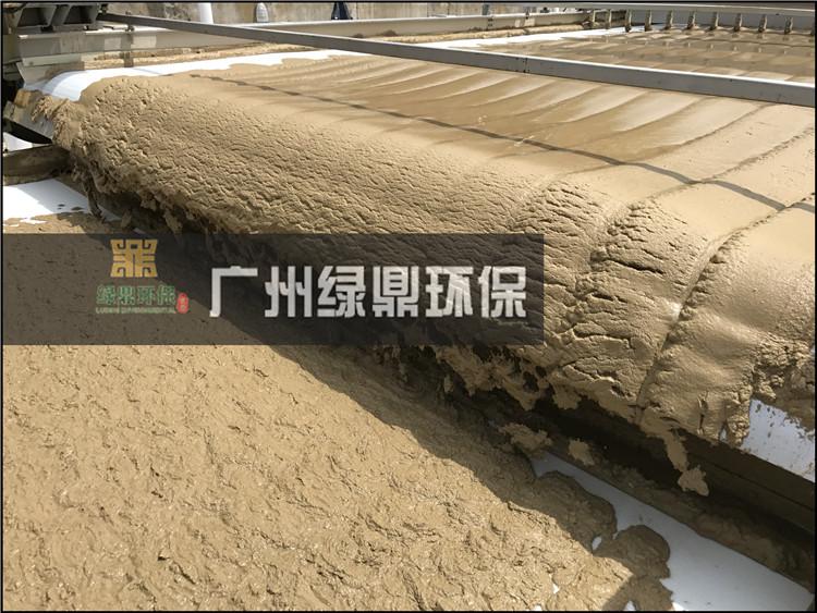 石材厂大锯切割泥浆处理工程泥浆处理设备现场案例 3