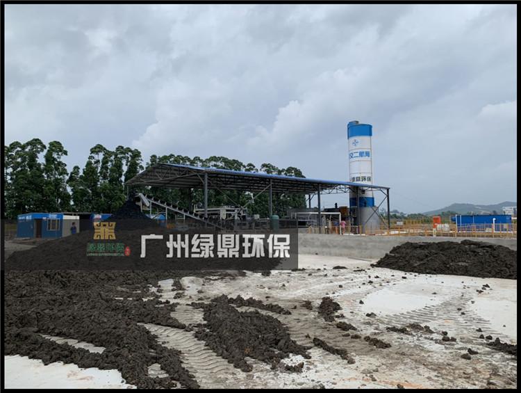 河道处理工程河道泥浆水处理设备应用现场 3