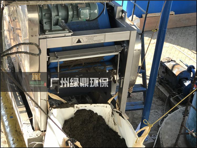 工业污泥处理工程化工泥浆处理设备现场案例