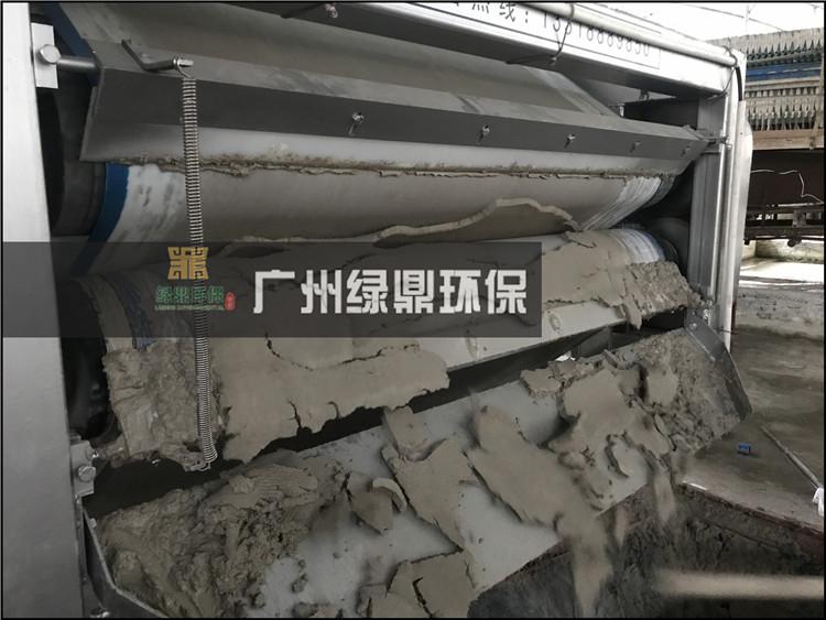 尾砂泥浆处理设备运行案例现场